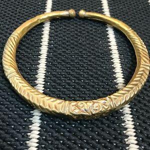 Gold/bronze vintage choker